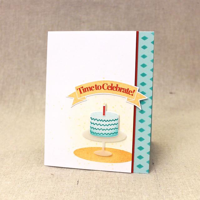 Lizzie Jones Time To Celebrate Card