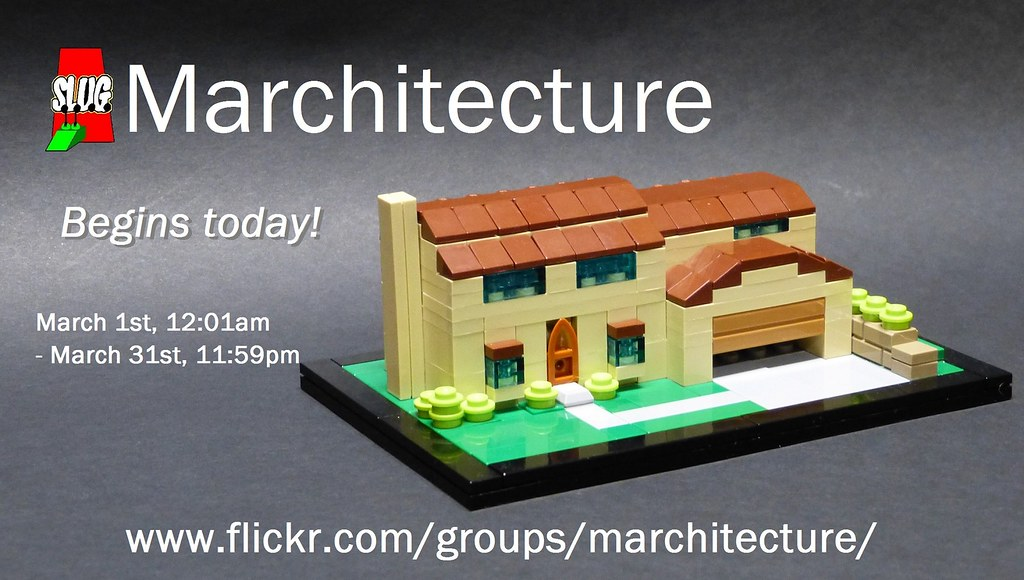 Marchitecture Begins today!