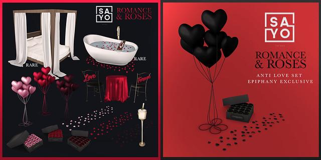 SAYO - Romance & Roses Gacha @ Epiphany