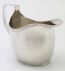 Silver jug by Joseph Pearson