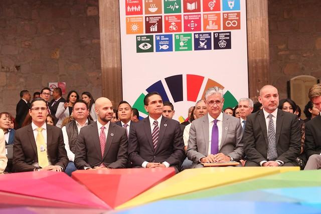 Instalación del Consejo Consultivo de Planeación para la Agenda 2030 para el Desarrollo Sostenible del Estado de Michoacán