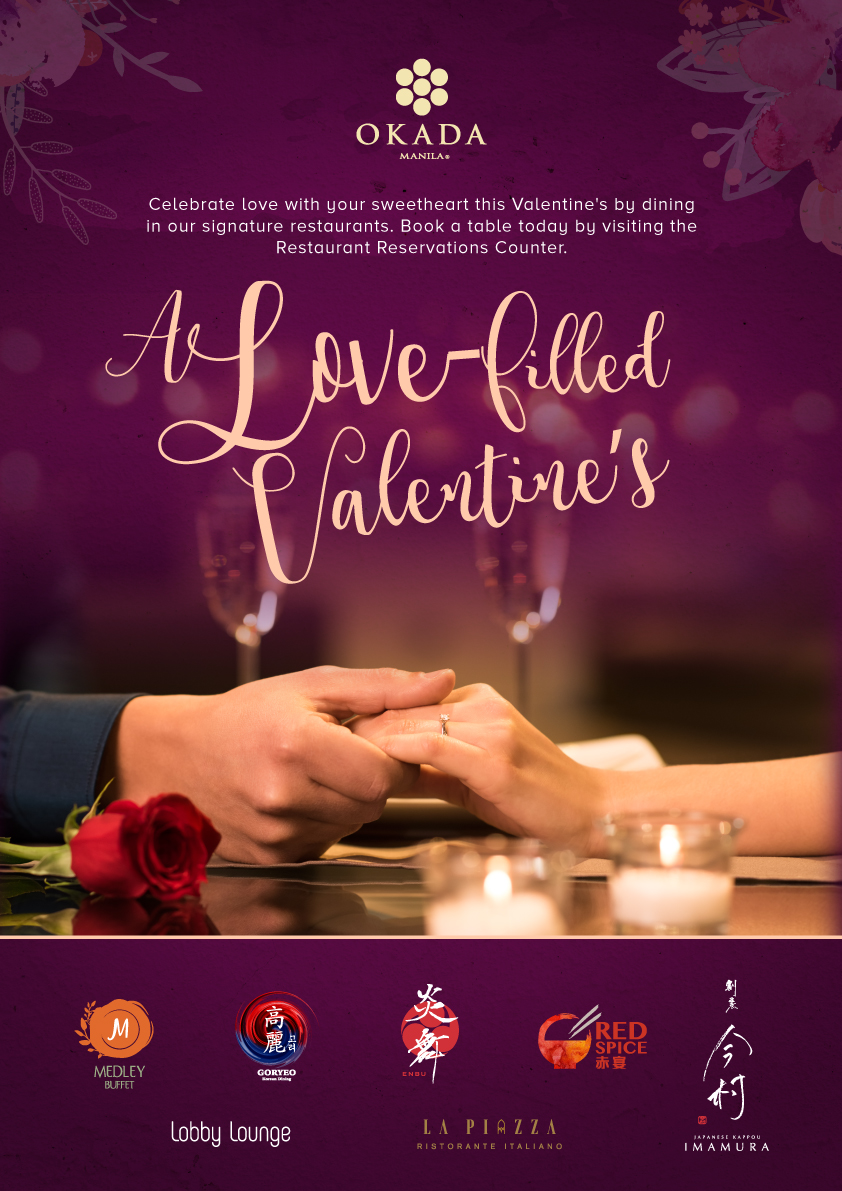 VALENTINE'S 2018 Manila: Fancy Date Dinners & Ideas! • Our Awesome