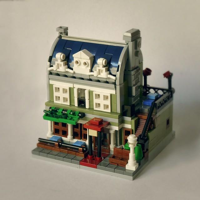 Micro Parisian Restaurant