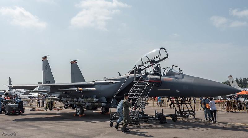 RSAF Boeing F-15SG