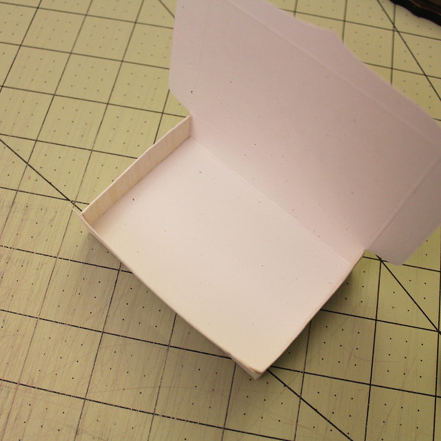 Gift Card Box Assembly Step 4