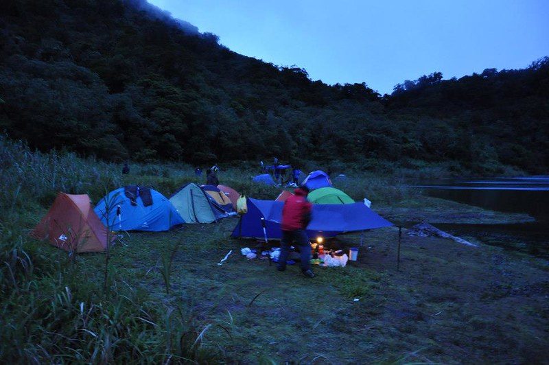 camping at Lake Nailig