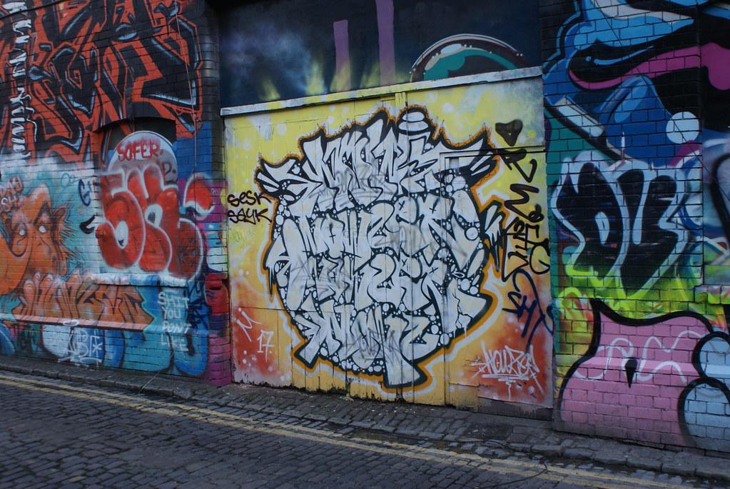 Street art dans le nord de Bristol.