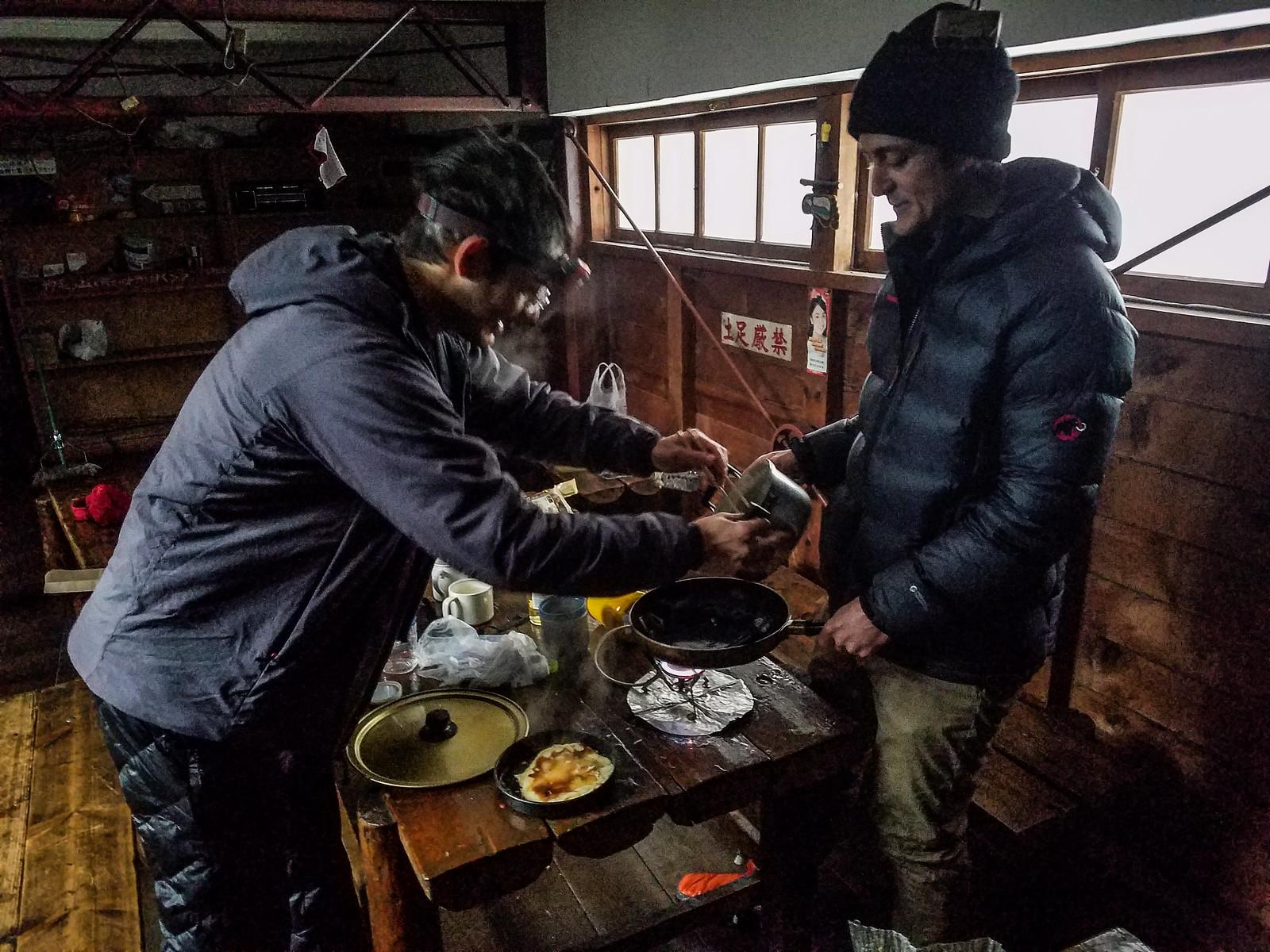 Shokanso Hut and Western Ridge Ski Touring (Hokkaido, Japan)