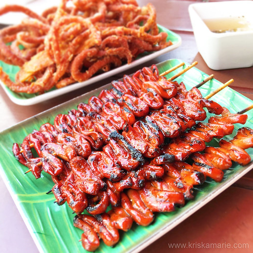 Grilled Isaw at Casa Pinoy