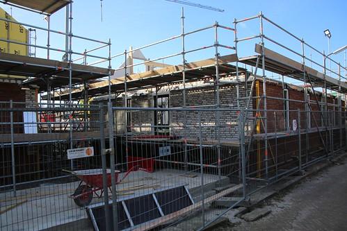 ENKHUIZEN - 25 feb Voortgang bouw David&Romeinstraat
