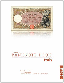 Banknote Book Italy cover