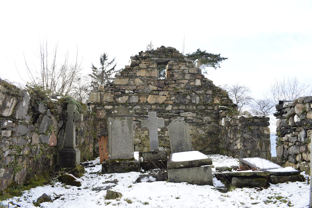 Keil Chapel and burial ground.