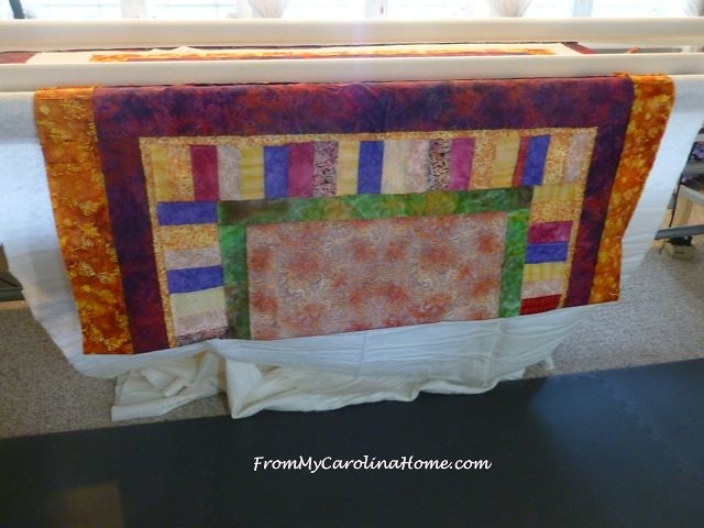Bright Panel Quilt ~ From My Carolina Home