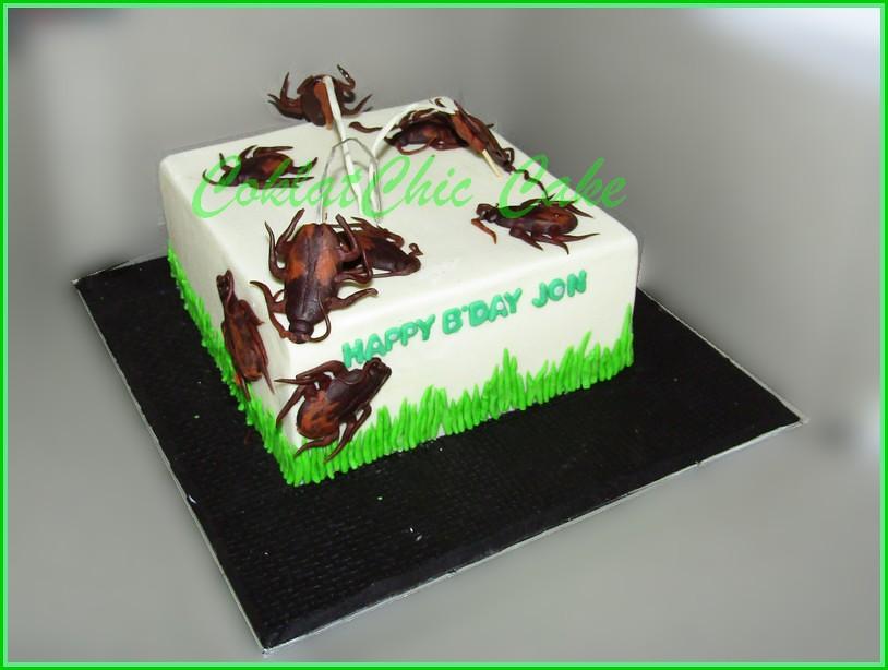 Cake cockroaches 15cm Jon