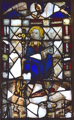 St Margaret with St John's head (15th Century)