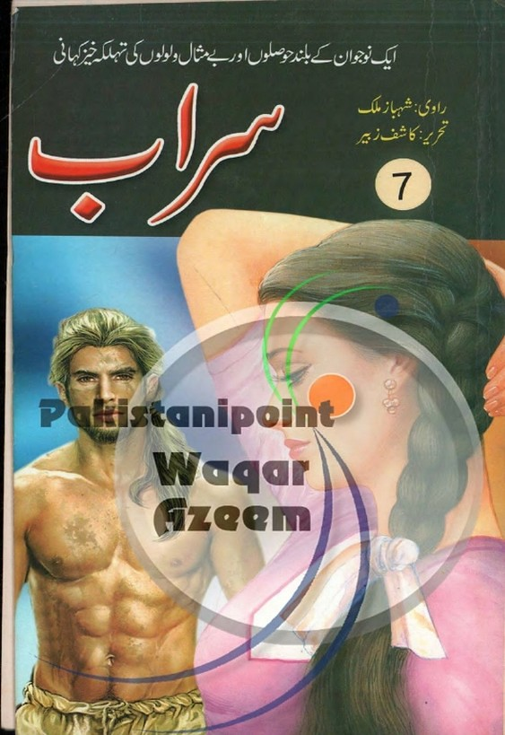 Sarab Part 7  is a very well written complex script novel which depicts normal emotions and behaviour of human like love hate greed power and fear, writen by Kashif Zubair , Kashif Zubair is a very famous and popular specialy among female readers