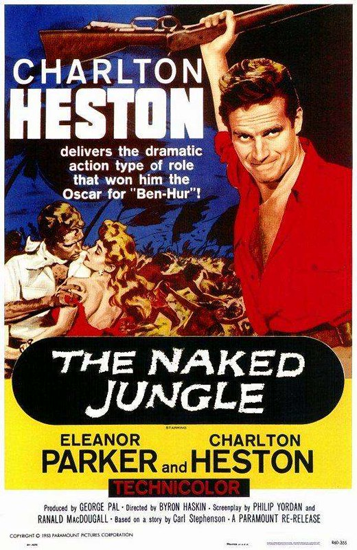 The Naked Jungle - Poster 1