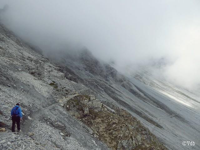 wandeling naar de Payerhütte