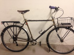 Ubercommuter, now with a 1x9 drivetrain and a new stem