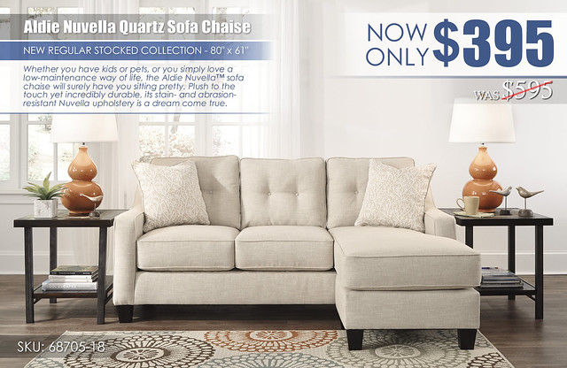 Aldie Nuvella Quartz Sofa Chaise_68705-18-SET