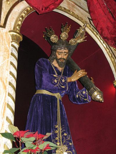 Real y Franciscana Hermandad y Archicofradia de Nuestro Padre Jesús Nazareno, Santa Cruz en Jerusalen, Nuestra Señora de Los Dolores, Santa Mujer de Verónica y San Juan Evangelista. (Dos Pasos)
