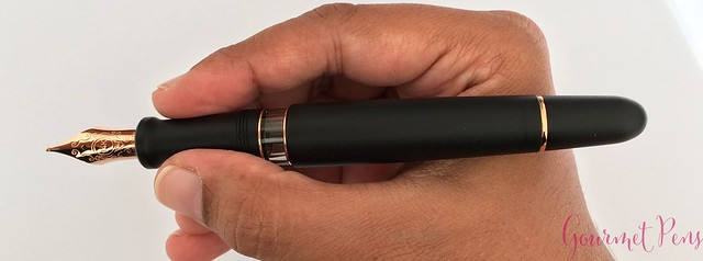Review Aurora 88 Satin Fountain Pen @iguana_sell @Iguanasell_ES 17