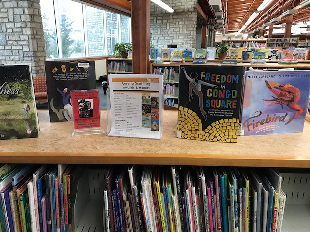 Orange Branch Library MLK Jr Display