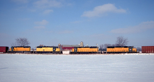 Meeting of the SD40-2s