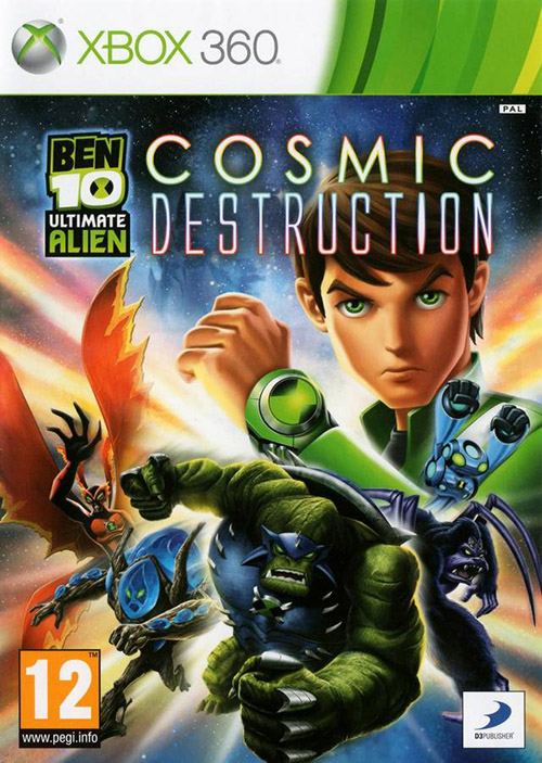 Ben 10 Ultimate Alien Cosmic Destruction Xbox 360 In Good Condition Ebay