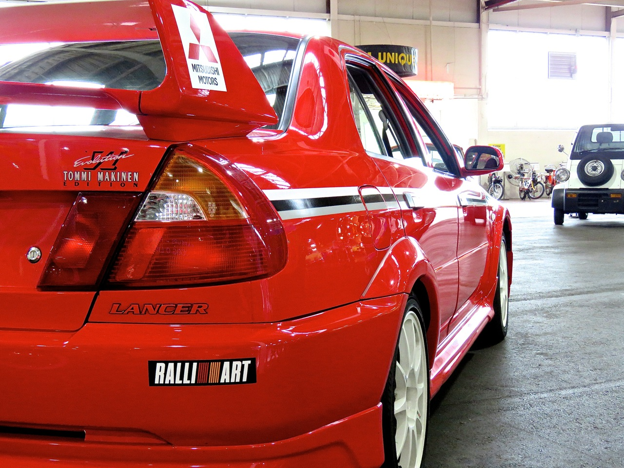 Lancer Evo VI Tommy Makinen Edition Lane Museum 4