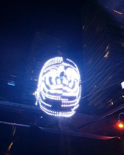 Talking Heads (2) #toronto #tolightfest #distillerydistrict #talkingheads #victorvicsek #latergram