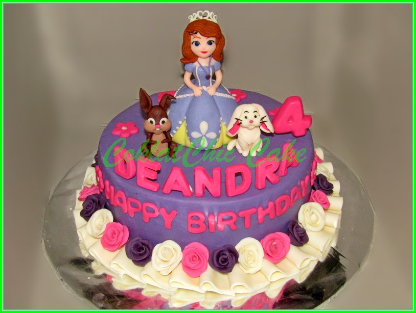 Cake Sofia The First DEANDRA 18cm