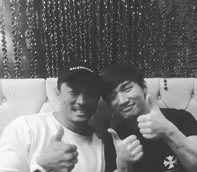 [Instagram] 추성훈 秋山 成勲 Yoshihiro Akiyama (akiyamachoo) long time no see 대성〜👍 ... 2018-01-14