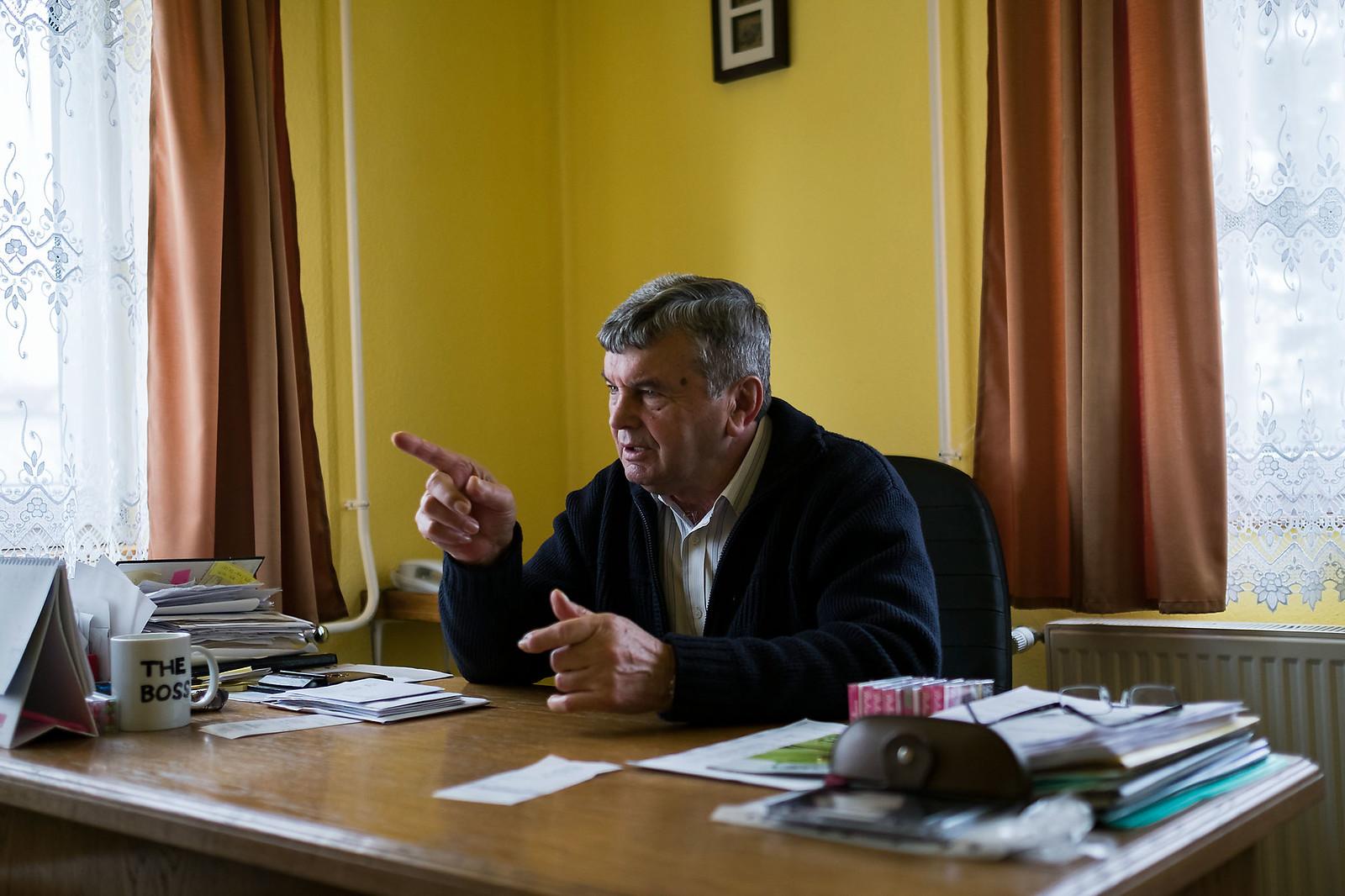 Nagy János, Hodász polgármestere | Fotó: Magócsi Márton