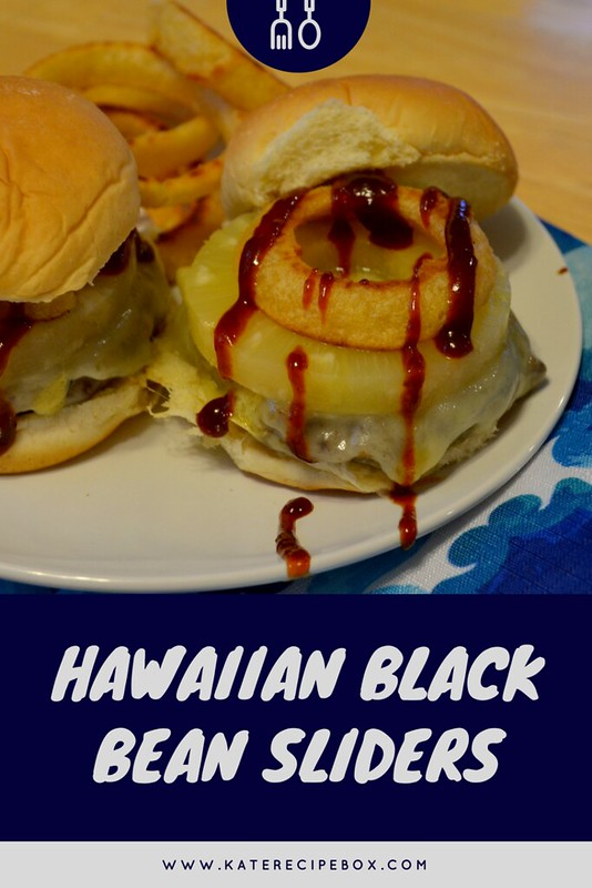 Hawaiian Black Bean Sliders