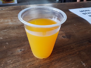 Passionfruit Juice from Pepper Pot Curry at Brisbane Vegan Markets
