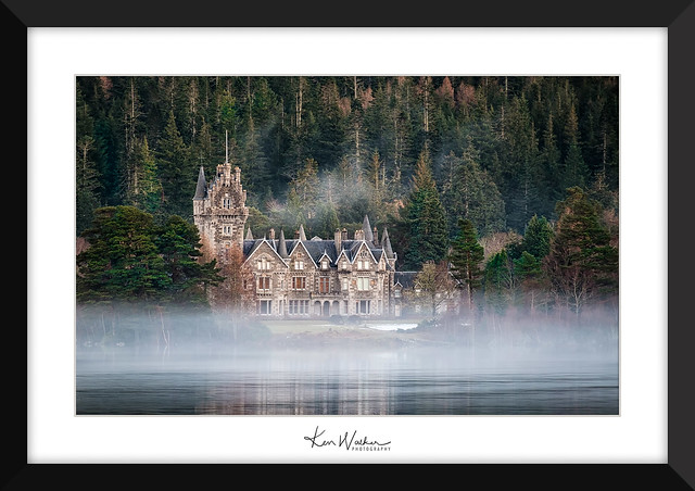 Ardverikie House - Loch, Fujifilm X-T1, XF55-200mmF3.5-4.8 R LM OIS