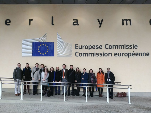 Students visit the European Commission for a brainstorming on the future of energy and climate policy