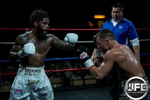 WFC 81 12/9/17 Pro Boxing at the Belle Of Baton Rouge