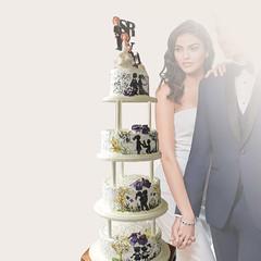 Tortas de bodas tradicionales