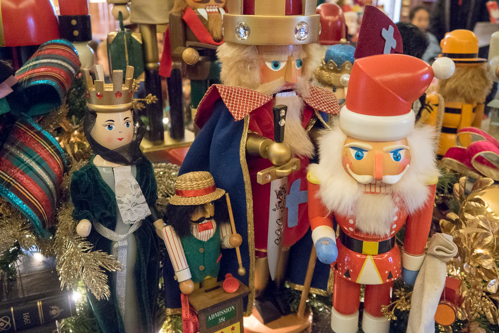 Nutcracker Display at DeGolyer House