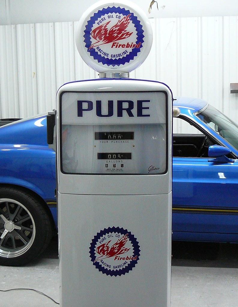PURE Oil Gas Pump