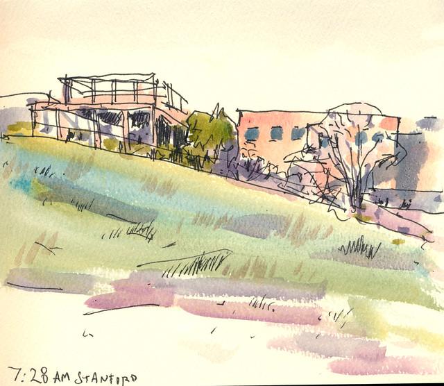 Sketchbook 111: Early Morning Practice Landscape