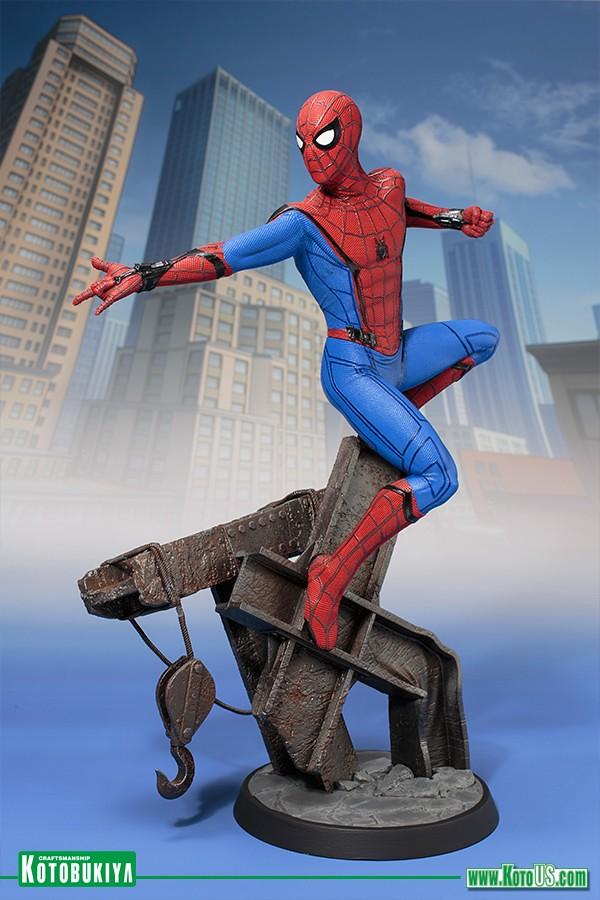 壽屋 ARTFX 系列《蜘蛛人:返校日》蜘蛛人 Spider‐Man 1/6 比例全身雕像作品