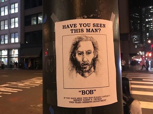 """""""BOB"""" wanted poster"""