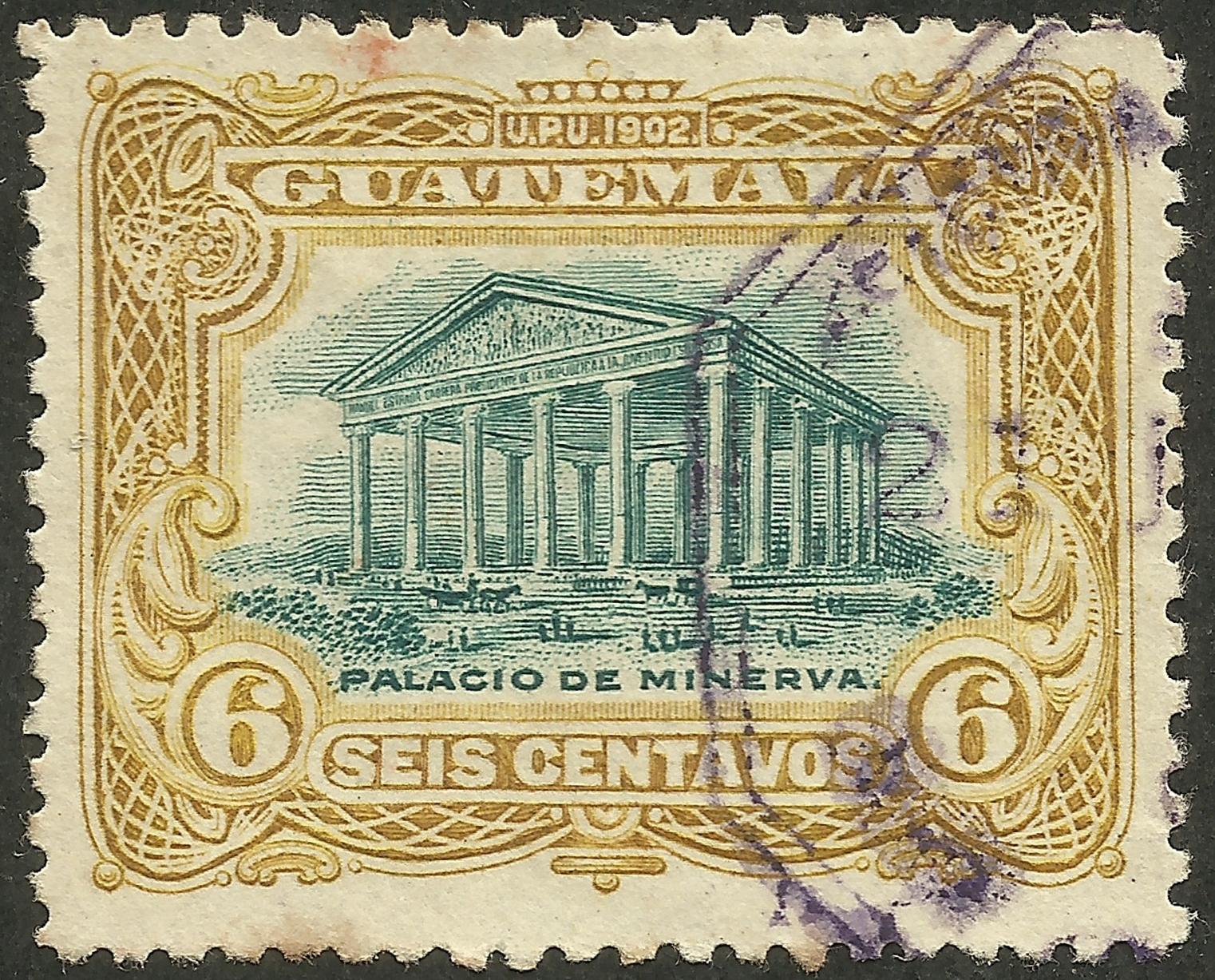 Guatemala - Scott #117 (1902)