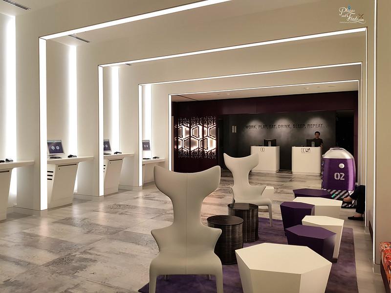 yotel singapore lobby view