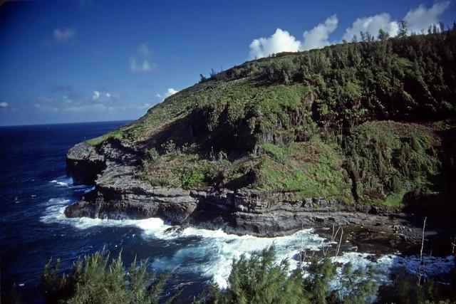 Kauai Coast - Kodachrome - 1986