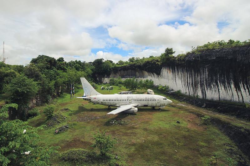 avion abandonado