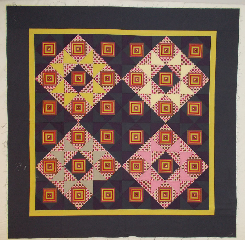 Challenge Quilt by Sandi Walton at Piecemeal Quilts